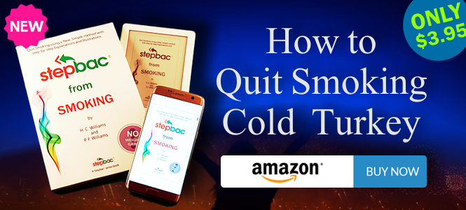 "Quit Smoking Cold Turkey - ""Stepbac® from Smoking"""