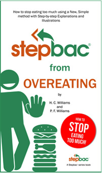 digital cover stepbac from overeating